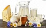 Домашнее молоко, творог и сметанка
