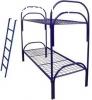 Кровати с металлической сеткой и спинками из ДСП