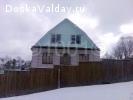 Недостроенный дом 100 кв.м. на участке 11 соток.