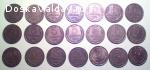 продам погодовку 5 копеек 1961-1991 гг - 21 монета